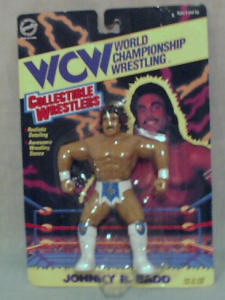 WCW Johnny B. Badd Wrestling Figure (Image1)