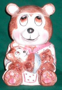 Weiss Mother Bear Cookie Jar (Image1)