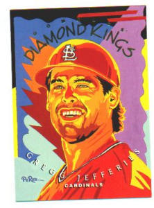 "1994 DONRUSS DIAMOND KING ""GREG JEFFRIES"" (Image1)"
