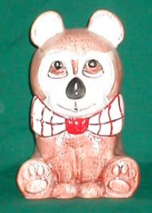 Weiss Bow-Tie Bear Cookie Jar (Image1)
