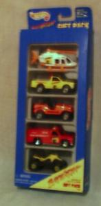 Hot Wheels Baywatch 5 Car Gift Set (Image1)