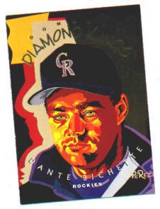 "1994 DONRUSS DIAMOND KING ""DANTE BICHETTE"" (Image1)"