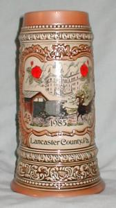 Lancaster, Pa.  Ceramic Stein (Image1)