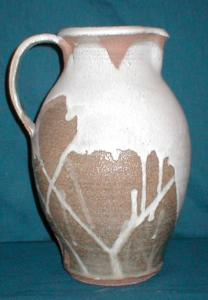 Hand-Made Pottery Pitcher (Image1)