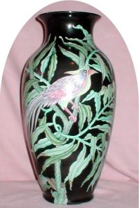Decorative Oriental Toyo Vase (Image1)