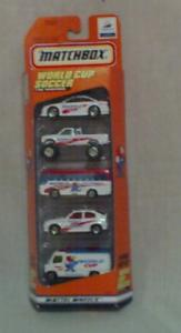 Matchbox World Soccer 5 Car Gift Set (Image1)