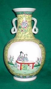 Ceramic Oriental Vase (Image1)
