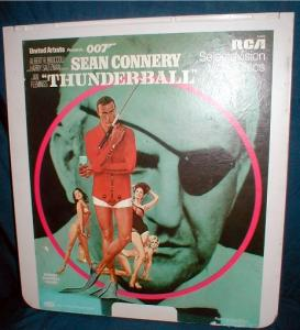 "Rca Ced Video Disc ""thunderball"""