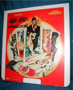 RCA CED VIDEO DISC - Live and Let Die (Image1)