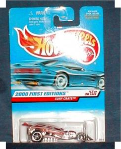 2000 1st Edition Hot Wheels - Surf Crate (Image1)