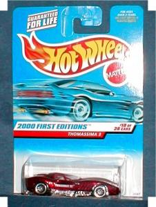 2000 1st Edition Hot Wheels - Thomassima 3 (Image1)