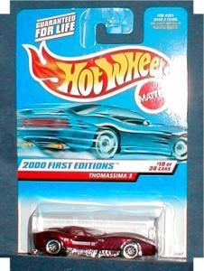 2000 1st Edition Hot Wheels - Thomassima 3 (Image1)
