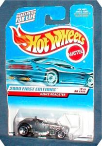 2000 1st Edition Hot Wheels - Deuce Roadster (Image1)