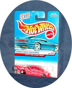 Chevy Pro Stock Truck- First Edition Hot Whee (Image1)