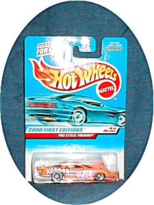 2000 First Edition Hot Wheels Pro Stock  Fire (Image1)