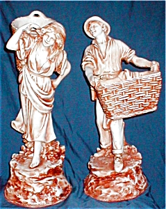 Mar-Wal Peasant Farm Couple Figures (Image1)