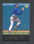 Click here to enlarge image and see more about item 1-Griffey: 1993 UPPER DECK KEN GRIFFEY CARD