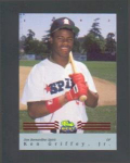 Click here to enlarge image and see more about item 11-Griffey: FLEER ALL-STARS #7 OF 12 (1993)