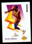 Click here to enlarge image and see more about item 118: 1991 Magic Johnson Skybox Collector Card
