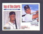 Click here to enlarge image and see more about item 18-GRIFFEY: 1998 COLLECTOR'S CHOICE TOP OF THE CHARTS