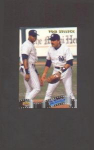 1992 UPPER DECK TOM SELLECK AND FRANK THOMAS (MR. BASEBALL)