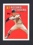 1988 TOPPS 1987 RECORD BREAKERS
