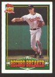 1991 TOPPS 40 YEARS RECORD BREAKER