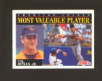 1992 SCORE MOST VALUABLE PLAYER