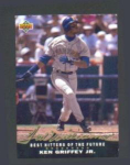 92 UPPER DECK TED WILLIAMS FEATURING KEN GRIFFEY