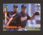 Click here to enlarge image and see more about item 281-RIPKEN: 1995 COLLECTOR'S CHOICE STRAIGHT GAMES
