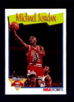 Click here to enlarge image and see more about item 314-JORDAN: 1992 NBA HOOPS BASKETBALL CARD