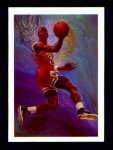 Click here to enlarge image and see more about item 316-JORDAN: 1991 NBA HOOPS BASKETBALL CARD
