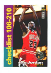 Click here to enlarge image and see more about item 322-JORDAN: 1995 COLLECTOR'S CHOICE CHECKLIST