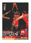 Click here to enlarge image and see more about item 333-JORDAN: 1995 COLLECTOR'S CHOICE