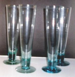 Click here to enlarge image and see more about item 370: Tall Champange Glasses