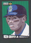 Click here to enlarge image and see more about item 54-GRIFFEY: 1994 UPPER DECK COLLECTOR'S CHOICE CHECKLIST