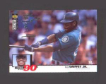 Click here to enlarge image and see more about item 80-GRIFFEY: 1995 UPPER DECK COLLECTOR'S CHOICE