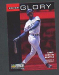 Click here to enlarge image and see more about item 81-GRIFFEY: 1995 UPPER DECK COLLECTOR'S CHOICE COVER GLORY