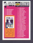 1998 COLLECTOR'S CHOICE CHECKLIST