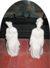 Click to view larger image of Porcelain Oriental Couple Figurines (Image3)