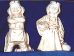 Click here to enlarge image and see more about item POCS117: Byron Molded Indians Figurines