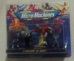 Micro Machines Power Ranger Set