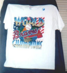 Click here to enlarge image and see more about item POCS126: 1995 World Series T-Shirt