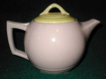 Click here to enlarge image and see more about item POCS144: McCoy Teapot