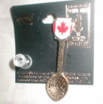 Click here to enlarge image and see more about item POCS157: 1996 Oympic Canada Spoon Pin