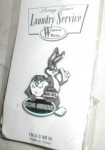 Click here to enlarge image and see more about item POCS168: 1994 Warner Bros. Bugs Bunny & Taz Pin