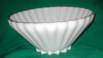 Click to view larger image of Elegant Milk Glass Bowl (Image1)