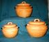 Click to view larger image of 3 Piece  California Bean Pot Canister Set (Image3)