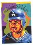 "Click here to enlarge image and see more about item POCS25: 1994 DONRUSS DIAMOND KING ""RAUL MONDESI"""