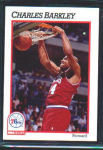 Click here to enlarge image and see more about item POCS28: 1991 NBA HOOPS CARD